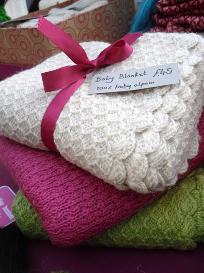 baby blanket alpaca wool